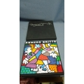 Romero Britto 1994 Signed First Limited Edition Art Book 214/250