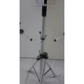 Tripod Adjustable 4-8 ft Antenna Stand, Hard mount feet