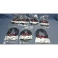 Lot of 7 APC Power Adapter Cord IEC320C-14 to NEMA 5-15R