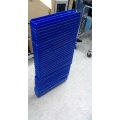 Lot of 36 Blue Plastic Bins Storage Trays 23.5 x 4.5