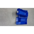 Lot of 10 Blue Plastic Bins Storage Trays