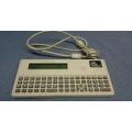 zebra thermal printer keyboard KDU 120181-001 with serial cable