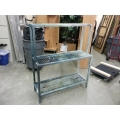 Aluminum Wash / Paint / Silkscreen Rack, 44 x 16 x 53.5 in.