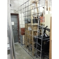 Retail Window Solid Steel Security Bars, Covers 105 x 86 in.