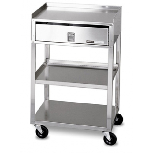 Mb Td Ss Stainless Steel Cart With Drawer And Wheels Allsoldca