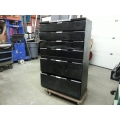 SMED 6 Drawer Industrial Tool Cabinet with 300 lb Slide Rails