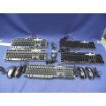 Lot Of Dell Wired USB Keyboards And Mice
