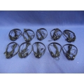 Lot of 10 DeVry Wired Headphones