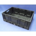 Lot of 12 Collapsible Folding Moving Storage Container Crates