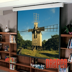 Targa Electric Power Operated Projection Screen, 84 x 84