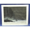 Unframed Print - The Angler - by Edgar .W. Bell