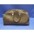 Brown Soft Leather Doctor / Tool Bag