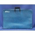 Blue Artex Portfolio / Art Carry Bag Case, 32 x 22