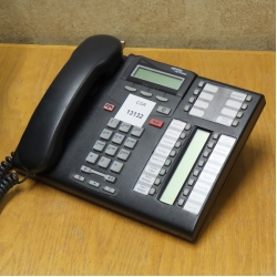 Nortel Meridian Charcoal T7316E Digital Business Display Phone