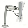 Steelcase FYI Monitor Stand / Arm Mount w Swivel and Tilt Adjust