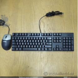 Assorted Wired USB Keyboard and Mouse Combo