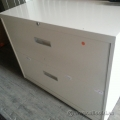 Steelcase Beige 2 Drawer Lateral File Cabinet, Locking SND