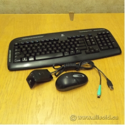 Logitech Cordless Desktop EX110 Keyboard and Mouse Combo