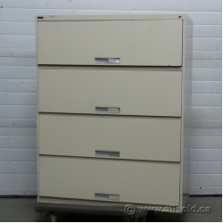 Artopex Beige 8 Drawer Microfiche Storage File Cabinet, Locking