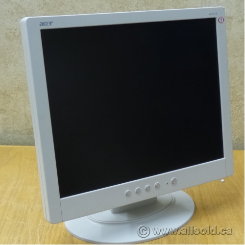 thanh lý 5 cái màn hình lcd 15 in vuông sam sung 540n - 2