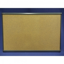 Quartet 24 x 36 Cork Bulletin Board with Plastic Frame