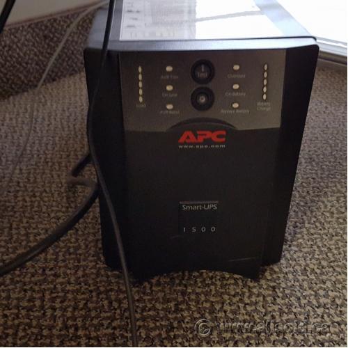 APC Smart UPS 1500 Power Battery Backup - Allsold ca - Buy