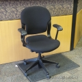 Herman Miller Black Adjustable Task Chair w/ fixed Arms