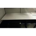 Herman Miller Run Off for Adjustable Corner Sit Stand Desk