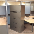 Global Dark Grey 5 Drawer Lateral File Cabinet