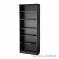 """Espresso 72"""" 5 Shelf Book Case with Adjustable Shelves"""