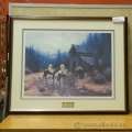 "Martin Grelle ""Muddy Morning"" Limited Edition Framed Print"