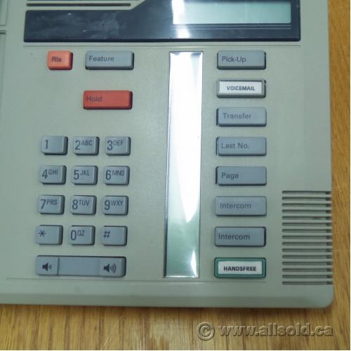 Nortel Meridian M7208 Grey Multi-line Business Phone