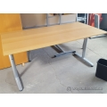 "IKEA GALANT 60"" Training Table Desk (Blonde, Honey)"