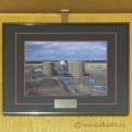 Framed Picture of Husky Oil Operation Crowsnest ASP Facilities