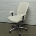 Krug ME Series White Leather Task Chair, Grade B