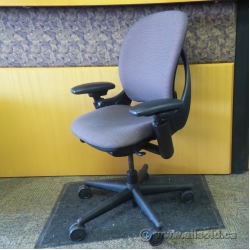 Steelcase Leap Grey Adjustable Ergonomic Task Chair w Arms