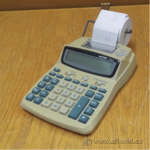 Victor 1208 2 Adding Machine Printing Calculator Buy