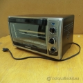 Black & Decker 4 Slice Black Convection Toaster Oven T01460BC