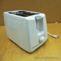 White 2 Slice Black & Decker Toaster T2101C