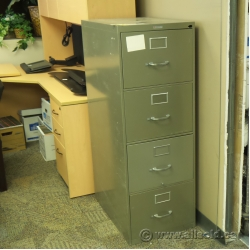 Grey 4 Drawer Vertical Legal File Cabinet