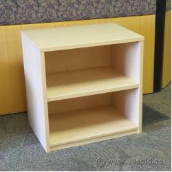 "Blonde 30"" 2 Shelf Bookcase with Adjustable Shelves"