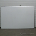 72 x 48 Non Magnetic Economy Whiteboard w/ blems