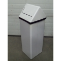 Frost Steel Waste Containers, Capacity US Gal., 11 Garbage Can