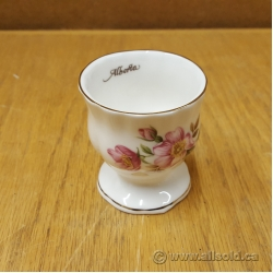 Lot of 7 Luxford Fine Bone China Alberta Rose Egg Cups