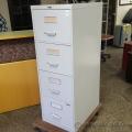 Prosource Grey 4 Drawer Vertical Legal File Cabinet