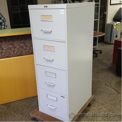 Nice Prosource Grey 4 Drawer Vertical Legal File Cabinet, Locking