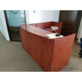 Autumn Maple Reception Desk L Suite