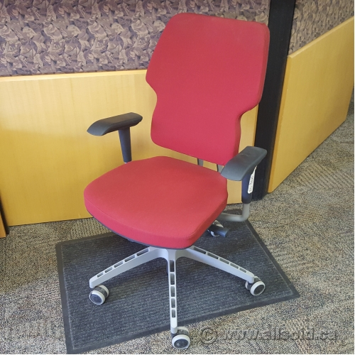 ikea red office chair. Red And Grey Ikea Klappe Swivel Office Chair