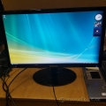 "Samsung S22A300B 21.5""  LED Monitor with Magic Angle"
