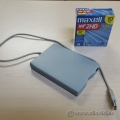 ScanDisk External Floppy Drive 1.44MB and Disks
